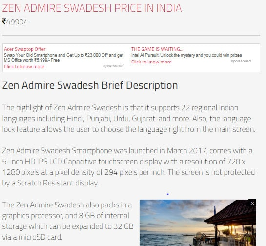 Digit: Zen Admire Swadesh